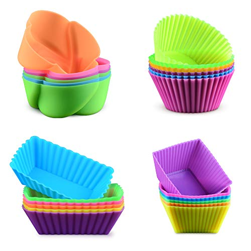 Silicone Baking Cups Cupcake Liners product image