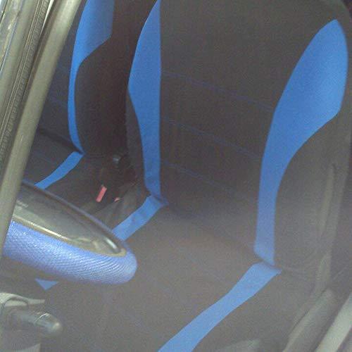 Justdodo 4 unids//Set Asiento de Coche Cubierta de Asiento Protector C/ómodo A Prueba de Polvo Reposacabezas Cubre Asiento Delantero Cubre Universal para Autom/óviles