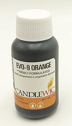 Candlewic EVO-9 ORANGE - Orange Candle Dye