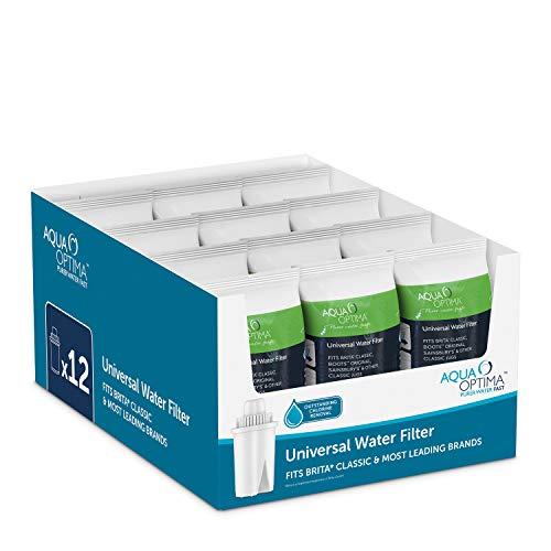 Aqua Optima Filtros de Agua Universal, Centimeters