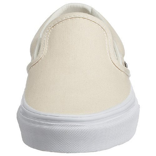 Adulto On Wht Zapatillas Classic Blanco Vans White Slip Unisex wXHzXBq