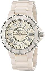 a_line Women's 20040-BEBESR Marina Beige Ceramic Bracelet Watch