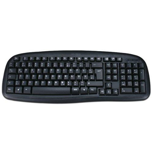 MS-Tech LT-277U Tastatur (DE, USB 2.0) schwarz