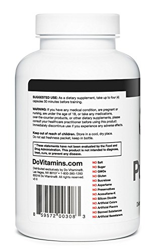 PumpPills Nitric Oxide Supplements For Men L Arginine L Citrulline Nitric Oxide Booster Stimulant Free Pre Workout Pills Vegan, Paleo, KETO, Non GMO (120 Capsules)