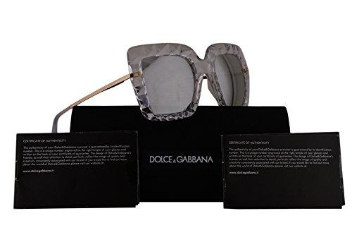 Dolce & Gabbana DG6111 Sunglasses Crystal w/Grey Mirror Lens 51mm 31336G DG - Dolce And Sunglasses Gabbana New Collection
