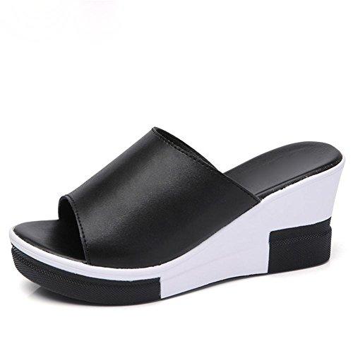 ¨¦paisses pengweiPantoufles Sandales avec d'¨¦t¨¦ dames 2 fines sandales p1Yq1fxw