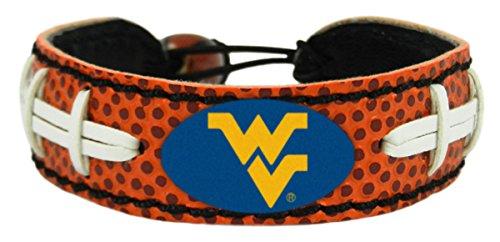 West Virginia Mountaineers Bracelet - Classic Football--(Package of 2) - Ncaa Classic Bracelets