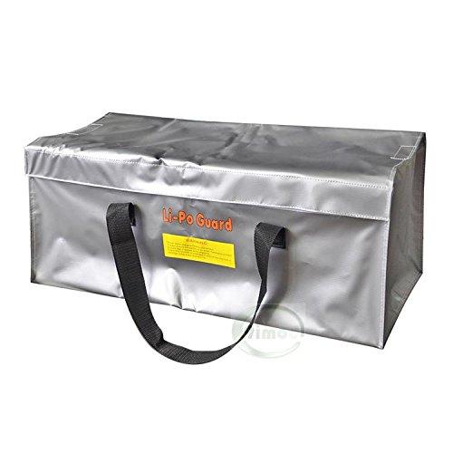 UUMART Fireproof Explosion-proof Bag Oversize RC Lipo Battery Safe Bag Lipo Guard Charge Protection Bag Protection Bag 640250250mm