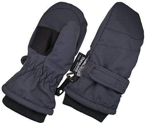 Children Toddlers and Baby Mittens Made With Thinsulate,and Fleece - Winter Waterproof Gloves By Zelda Matilda, Dark Gray, 2 - 3 Years Fleece Winter Mitten