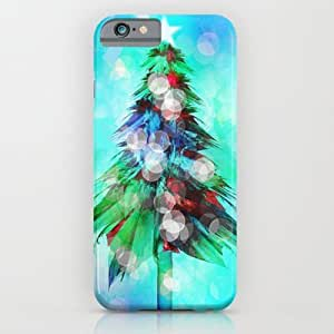 Society6 - Abstract Christmas Tree iPhone 6 Case by Klara Acel wangjiang maoyi