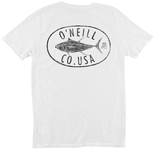 Tuna Roll (O'Neill Men's Tuna Roll Tee, White, XL)