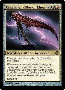 Magic: the Gathering - Unscythe, Killer of Kings - Alara Reborn
