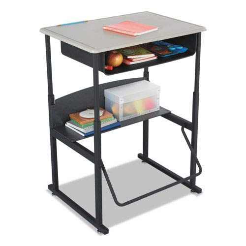 Safco AlphaBetter Desk, 28 x 20 Standard Top with Book Box ()