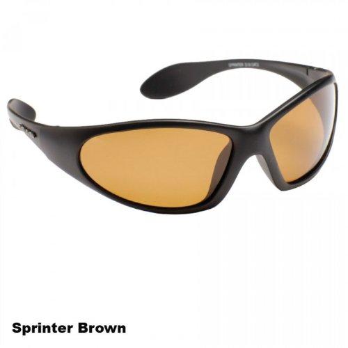 Korum polarizadas gafas de protección UV marrón lente: Amazon.es: Deportes y aire libre