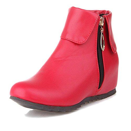 estaciones Blanco altura de resbalón HLas red al interior la de alta cortas mujeres negro de de Gris botas cremallera cara de Rojo las la Azul doble resistente goma cuatro desgaste 40 H 8TXHxX