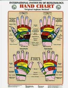 - Hand Reflexology Chart Laminated