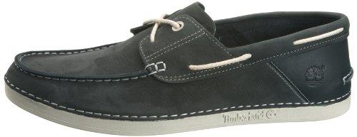 para Timberland NUBUCK 0 Zapatos 2 cuero de hombre NAVY EK Azul BOAT 20514 vrnvOXSRxw
