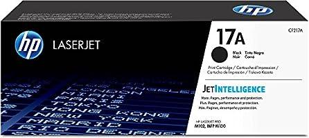 Cartucho original de tóner HP 17A LaserJet negro(CF217A)