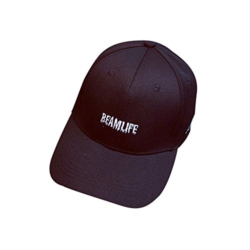 - Women Men Outdoor Sport Running Hat, Simple Visor Solid Color Fashion Casual Baseball Cap, Adjustable Strap Back Black