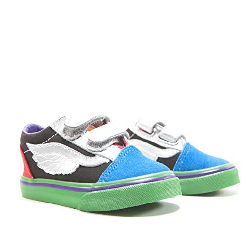 Vans X Marvel Old Skool Toddler Shoes, (Marvel) Avengers/Multi (5.5 M US Toddler) -