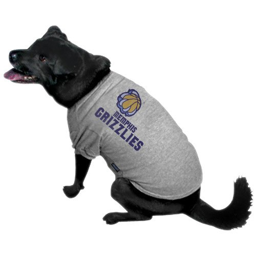NBA Memphis Grizzlies Pet T-Shirt, Team Color, Medium