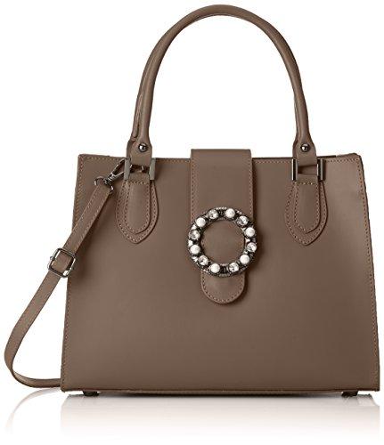 taupe Beige 8881 Women's Borse Taupe Chicca Handbag w4B7xq