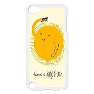 Custom New Cover Case for Ipod Touch 5, Good Morning Phone Case - HL-518275