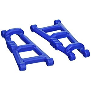 RPM 80185 Rear A-Arms Blue E- Monster Jam, Rustler, Stampede
