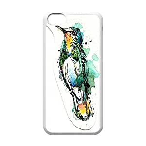 Beautiful & cute bird,Hummingbird Case Cover Best For Iphone 5c KHRN-T533520