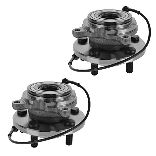 Wheel Bearing & Hub Rear Pair Set of 2 for Land Rover Discovery Series II