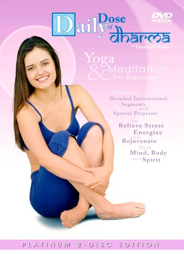 Daily Dose of Dharma with Danica McKellar Yoga and Meditation for Beginners