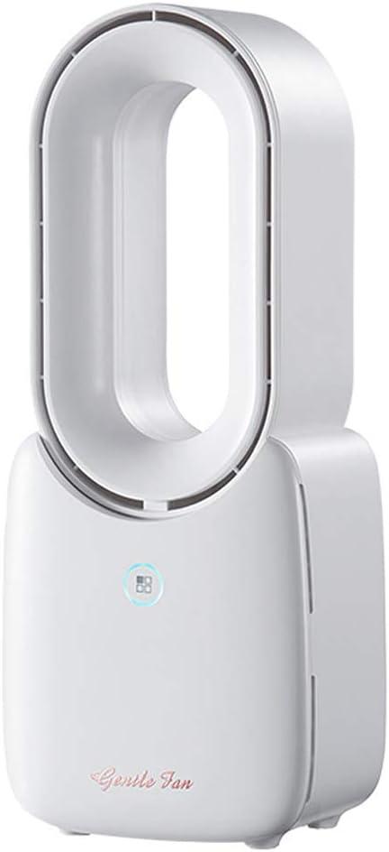 TinPlanet Ventilateur de table multiplicateur dair portable USB Blanc nacr/é