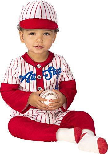Infant Baseball Player Toddler Halloween Costume