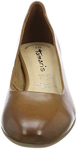 Marrone 22302 Tamaris Donna Cognac con Tacco Scarpe wHnqFfX7