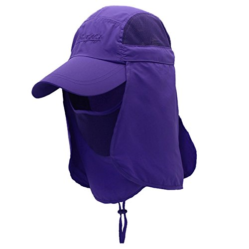 ... Outdoor Cap UV Protection Sun Hats Fishing Hat Neck Face Flap Hat  UPF50+. One Size-Khaki. One Size-Deep Blue. One Size-Grey. One Size-Pink.  One Size- ... ad3576c3d380
