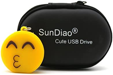 Amazon.com: sundiao divertido Emoji forma USB Flash Drive ...