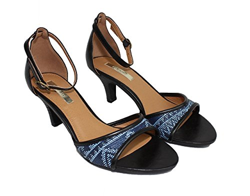 Esprit Sandalen schwarz - blau Damenschuhe Schuhe Sandaletten 37