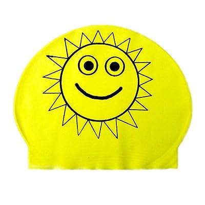 Bonnet de bain en Latex en forme de soleil  Divers