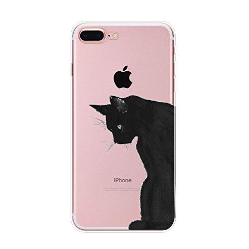 Vanki® Funda iPhone 7 Plus, Carcasa Serie volar Sakura iPhone 7 Plus Case Cover Silicona Suave Funda para Apple iPhone 7 Plus 5.5 inch 6