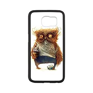 TOSOUL Owl 4 Phone Case For Samsung Galaxy S6 G9200 [Pattern-4]