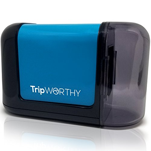 TripWorthy Electric Pencil Sharpener - Battery Operated