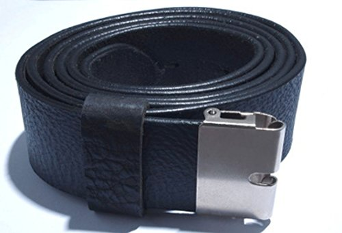 (Belt buckle Scallop and Simplex with a black leather belt Top quality)