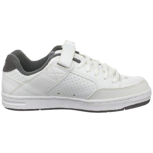 C1RCA Mens 205 Skateboarding Shoe White/Gray 9otpM3A