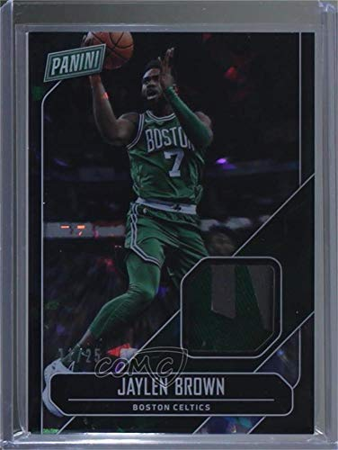 Jaylen Brown #/25 (Trading Card) 2018 Panini Father's Day - Memorabilia - Cracked Ice ()