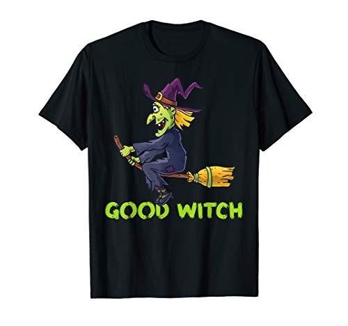 Good Witch Funny Halloween Costume Shirt Women, Girls