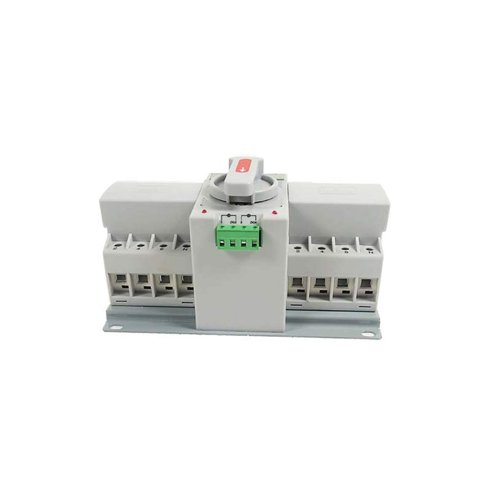 INTBUYING Double Power Automatic Transfer Switch 4P 63A Leakage Protector