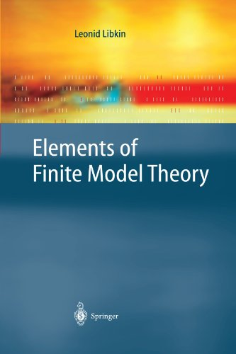 Elements of Finite Model Theory (Texts in Theoretical Computer Science. An EATCS Series) by Springer