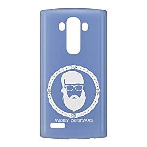 Loud Universe LG G4 Santa Badge Print 3D Wrap Around Case - Blue