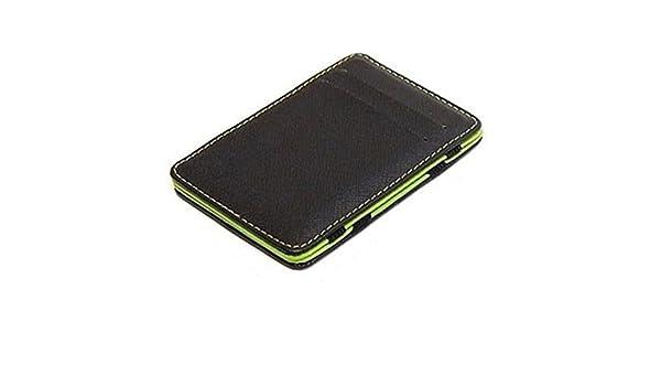 Processes Minimalist Men Wallet Rfid Slim Card Organizer Purse Magic carteras Minimalista, Green at Amazon Mens Clothing store:
