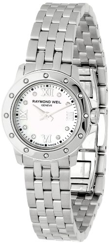 Raymond Weil Women s 5799-ST-00995 Tango Mother-of-Pearl Diamond Dial Watch